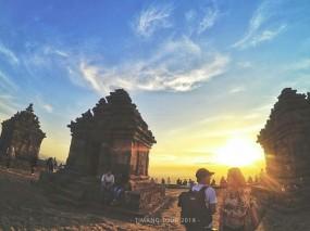 Ijo Temple Yogyakarta